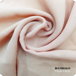 Moss Crepe Chiffon Fabric Muddle Polyester Fabric