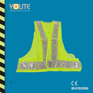 High Visbility Vest with Reflective Belts for CE En 13356 pictures & photos