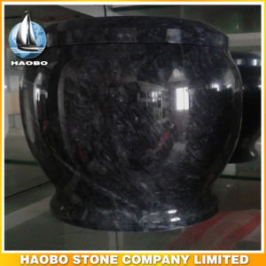 Natural Stone Cremation Urns Wholesale Green pictures & photos