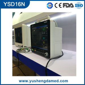 Ysd16n Ce FDA Approved 15′′ Multi-Parameter Patient Monitor pictures & photos