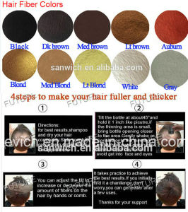 Factory Directly Sale 100% Natural Unisex Hair Thickening Fibers Hair Building Fibers Products pictures & photos