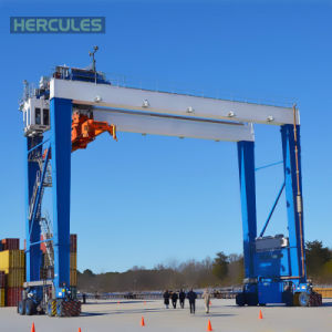 Double Girders Gantry Crane with Trolley pictures & photos