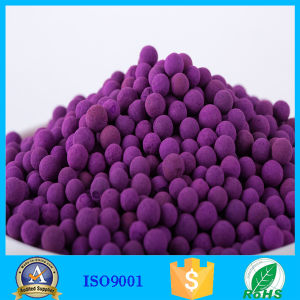 8% Content High Purity Chemical Adsorbent Activated Potassium Permanganate Ball pictures & photos