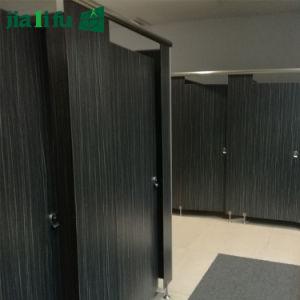 Public Phenolic Compact HPL Toilet Partition Cubicle pictures & photos