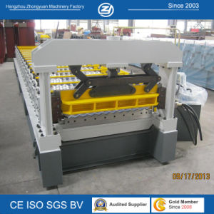 Steel Roof Cold Roll Forming Machinery pictures & photos