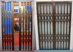 Burgular-Proof Aluminium Collapsible Door (BHS-DA06) & China Burgular-Proof Aluminium Collapsible Door (BHS-DA06) - China ... pezcame.com