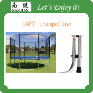 Large Trampoline with Enclosure and Ladder, 14ft Trampoline pictures & photos