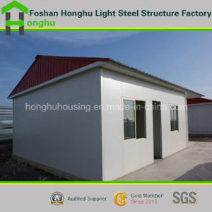 Chinese Fast Assembled Sandwich Panel Prefabricated House Porta House Cabins pictures & photos