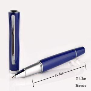 High End Business Gift Sapphire Blue Roller Pen