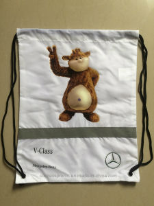 Custom Promotion Drawstring Bag, Backpack with Customized Design pictures & photos