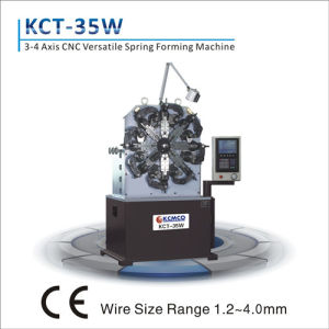 Kct-35W 1.2-4.0mm 3 Axis High Speed CNC Versatile Spring Making Machine&Extension/Torsion Spring Making Machine pictures & photos