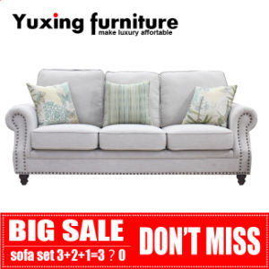 American Sofa Fabric Couch for Living Room Home Furniture Set pictures & photos
