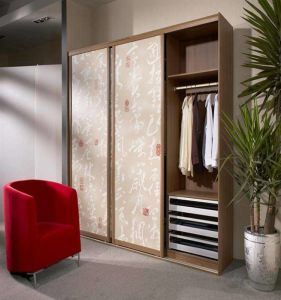 Latest Wood Wardrobe Design (AGW-001) pictures & photos