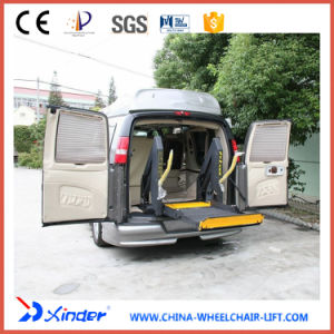 Fully Electric Wheelchair Lift for Van and Minibus (WL-D-880U-1150) pictures & photos