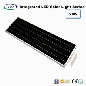 20W PIR Sensor Integrated Solar Garden Light pictures & photos
