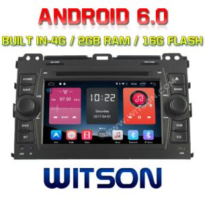 Witson Quad-Core Android 6.0 Car DVD Player for Toyota Prado 120 2g RAM Bulit in 4G 16GB ROM pictures & photos