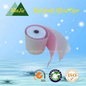 Printed Carbonless Type Cash Register Paper Roll pictures & photos