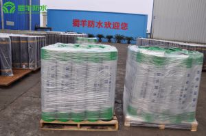 Reactive Cross-Laminated Film Waterproof Membrane 1.2mm Wet-Paving Single Face Bonding Grade II pictures & photos