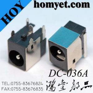 DIP DC Power Socket 5pin DC Power Jack pictures & photos