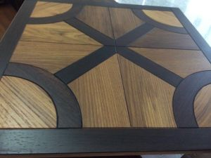 Rose Wood and Teak Wood Parquet /Engineered Wood Flooring pictures & photos