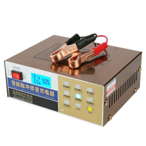 Full Automatic Electric Intelligent Pulse Repair Type Car Battery Charger 12V/24V pictures & photos
