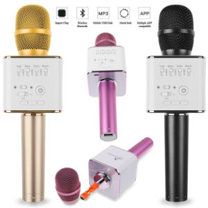 Q9 Karaoke Player Microphone Wireless Speaker for Bluetooth Connectivity pictures & photos