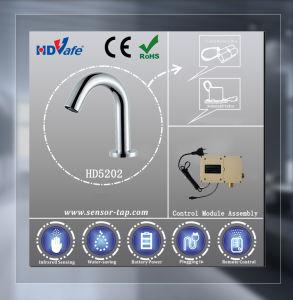 Automatic Optical Fiber Sensor Faucet Basin Mixer Faucet HD5202 pictures & photos