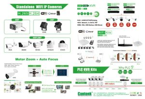 Home H. 264 PLC NVR & IP Camera Kits pictures & photos