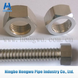 Bsp NPT Ms58 Nickel Plated Brass Pipe Fitting