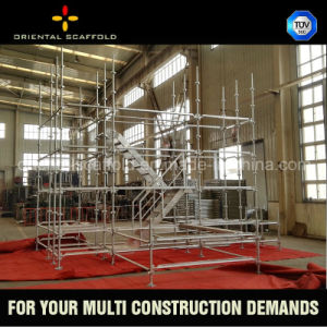 Painted or Galvanized Kwikstage Scaffolding System pictures & photos