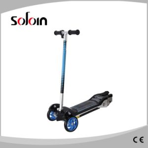 Mini Kids 3 Wheel Balancing Folding Electric Foot Kick Scooter (SZE80S-2) pictures & photos