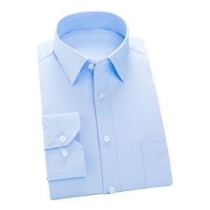 Men White Formal Business Dress Shirt of Cotton pictures & photos