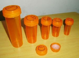 Child Resistant Reversible Cap Vials Dual Functions for Recreational Herbals pictures & photos