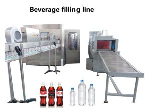 Complete Carbonated Soft Cold Drinks Beverage Bottling Plant  pictures & photos