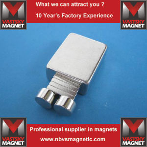 Neodymium NdFeB Permanent Magnet for Holder Heater Keeper Stopper pictures & photos