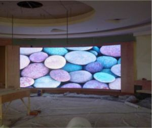 Indoor Wall LED Display Screen Cheap Price Simple Cabinet P3 pictures & photos