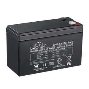 Rechargeable Deep-Cycle UPS AGM Battery 12V 7.0ah pictures & photos