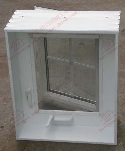 UPVC Window with Crank Hardware Systems (BHP-CW26) pictures & photos