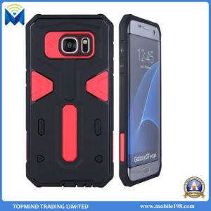 Mobile Phone TPU PC 2 in 1 Combo Tough Armor Case with Finger Ring Holder for Samsung S7 Edge pictures & photos