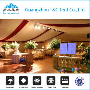 Luxury Removable Waterproof Party Tent for Sale with Tables Chairs pictures & photos