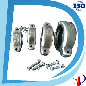 Stainless Steel Quick Grooved Pipe Coupling Generator Shaft Clamp pictures & photos