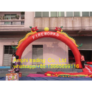 Attractive Advertising Inflatable Arch Blue Inflatable Archway