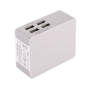 4.8A Max Samsung Xiaomi Cellphone Smart USB Charger/Wall Charger pictures & photos