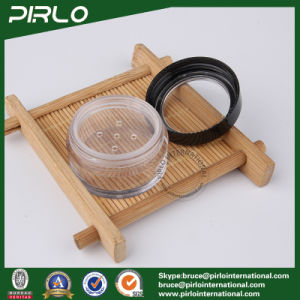 50g ABS Plastic Cosmetic Jar with Window Cap Single Layer Loose Powder Jar 50ml Clear Cosmetic Case Loose Powder Sifter Jars pictures & photos