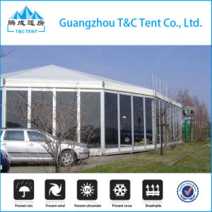 500 People High Peak Hexagonal Party Tent for Wedding Party in Nigeria pictures & photos