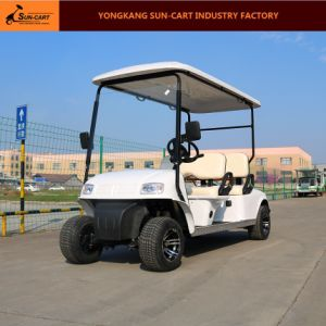 4 Passenger Electric Hotel Golf Cart pictures & photos