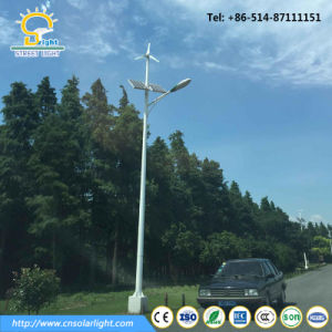 High Efficiency 8m 60W Wind Solar Hybrid LED Light pictures & photos