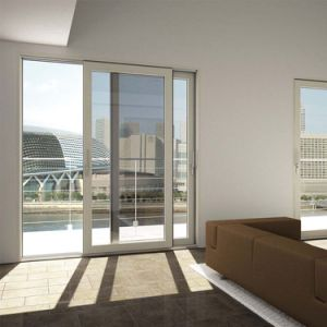 White/Black/Gray/Brown Aluminum Frame Sliding Glass Door pictures & photos
