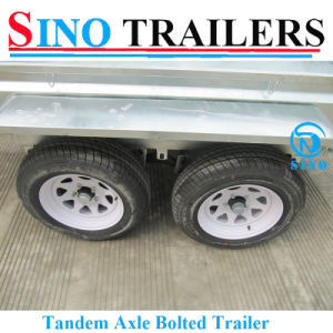 Australian New Style Heavy Duty Bolted Tandem Trailers pictures & photos