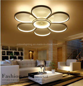 New Circular Acrylic LED Light Ceiling Lamp Light
